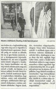 Képek az emberről: múlt, jelen és jövő – Magyar Nemzet 2. oldal